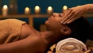 Calming Crown Massage: Enlumnia Energy Spa, Dallas TX