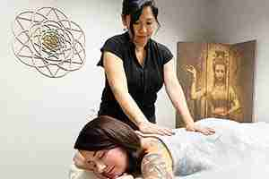 Signature Massage Therapy Energy Healing Spa Massage Chakra Balancing Reiki Master Healer Lisa Foresman Enlumnia Energy Spa Dallas TX Copyright 2021