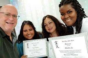 Reiki Class Training Certification Reiki Master Trainer Teacher Kevin Foresman Lisa Foresman Enlumnia Dallas TX