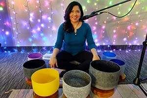 Sound Healing Bath Crystal Singing Bowls Vibrational Holographic Sound Energy Healing Kevin Foresman Lisa Foresman Enlumnia Energy Spa Dallas TX Copyright 2021
